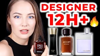 TOP 10 LONG - LASTING - DESIGNER fragrances for men 💯