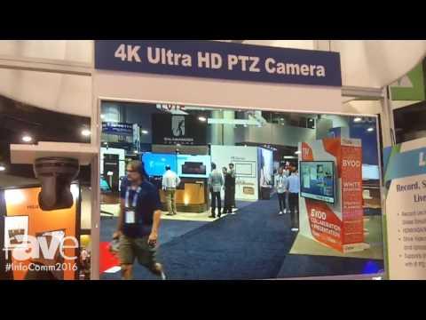 InfoComm 2016: Lumens Integration Talks About 4K Ultra HD PTZ Camera