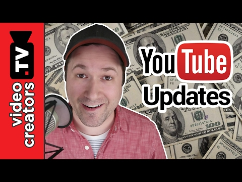 3 YouTube updates to help you Make More Money 💰