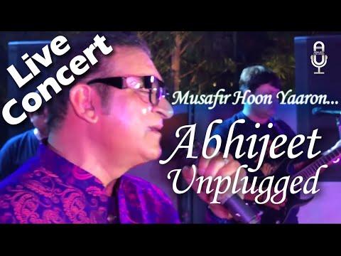 Musafir Hu Yaaro Lyrics   मुसाफ़िर हूँ यारों    #Abhijeetunplugged   Musafir Hoon Yaaron Unplugged