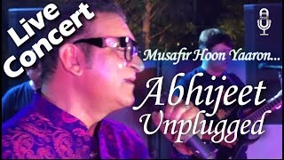 Musafir Hu Yaaro lyrics | मुसाफ़िर हूँ यारों  | #Abhijeetunplugged | Musafir Hoon Yaaron unplugged