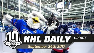 Daily KHL Update - September 24th, 2017 (English)