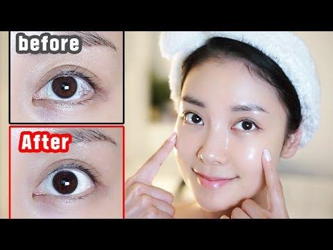 ENG) 깨끗한 흰자 만드는 법! 실핏줄, 탁한, 지저분한 흰자 해결! How to clear up the white of the eye     뷰티클라우드 유나 UNA