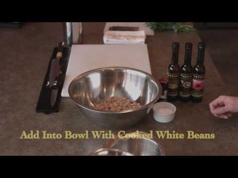 Fustini's Marinated White Beans
