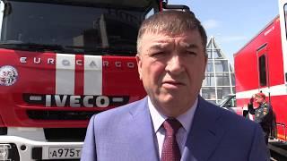 Начальник ГУ МНС Росії по РТ Рафис Хабібуллін про порятунок дітей в Альметьєвська