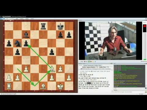 Biel Masters Challenge 2016 Maxime Vachier-Lagrave v Peter Svidler Classical Game 2