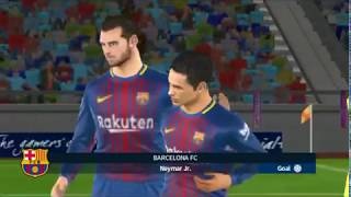 Manchester City Vs Barcelona Dream League Soccer 2018 Android Gameplay #127
