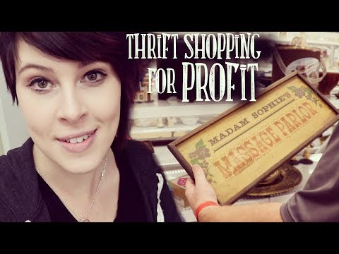 Thrift Store Shopping For Profit | Vintage & Antiques Buying and Resale
