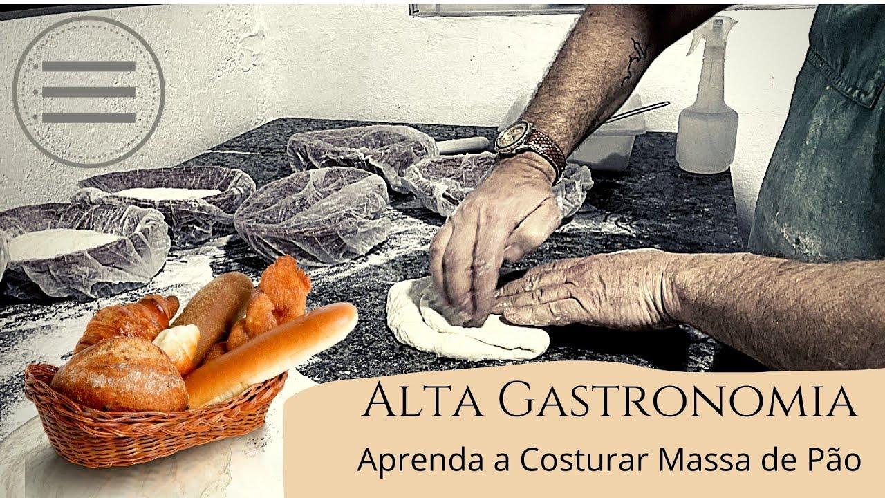 Aprenda a Costurar Massa de Pão