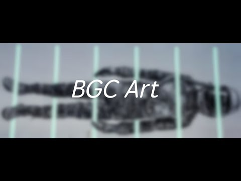 Bonifacio Global City (BGC) Art Installation Video Manila Makati Philippines Drone Footage