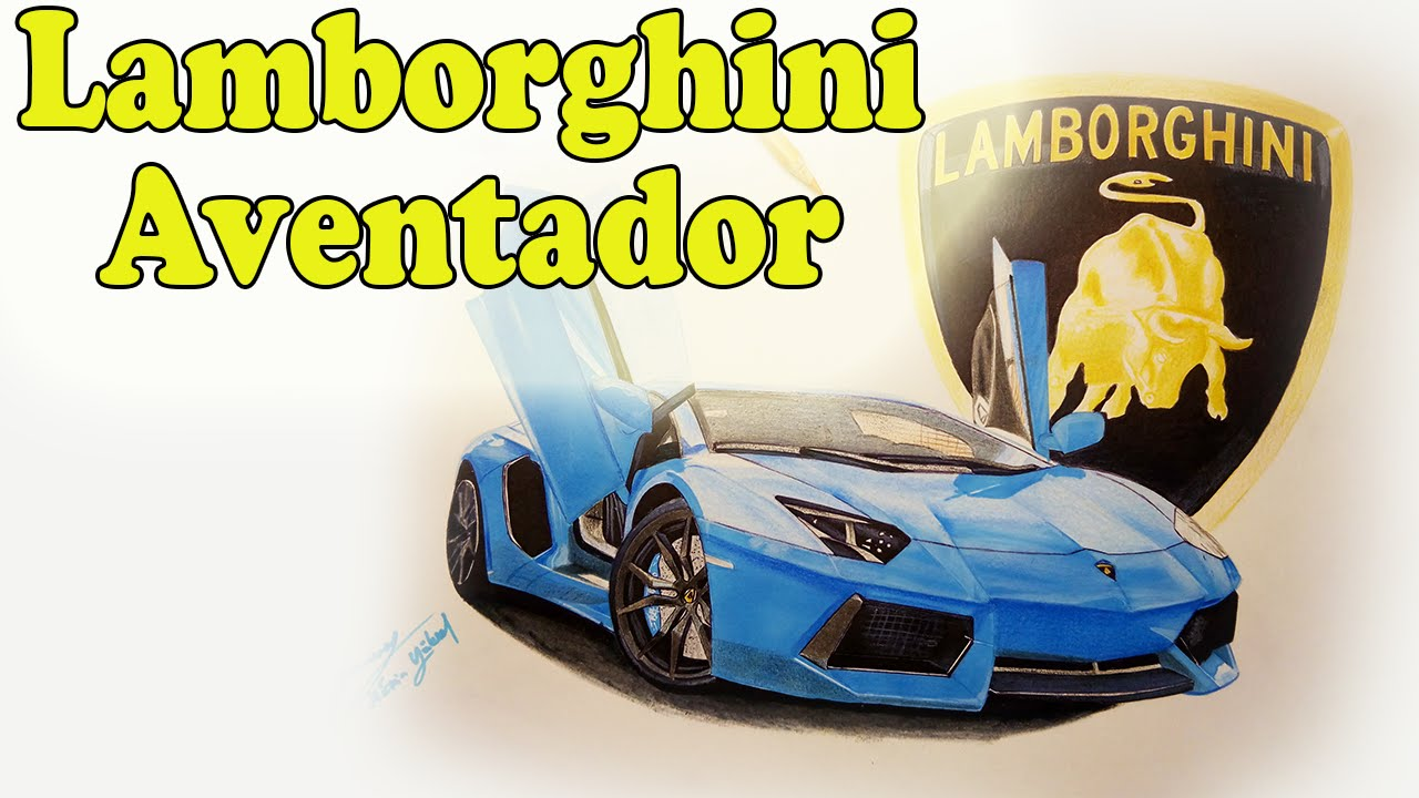Lamborghini Aventador Cizimi Araba Cizimi Car Drawing Art Youtube