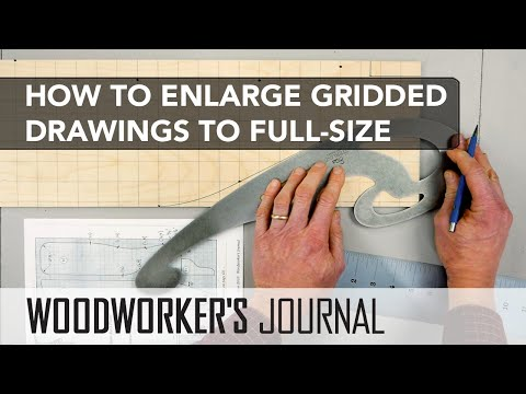 How to Enlarge Gridded Drawings