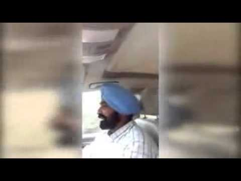 Babbu maan going to bombay and driving car