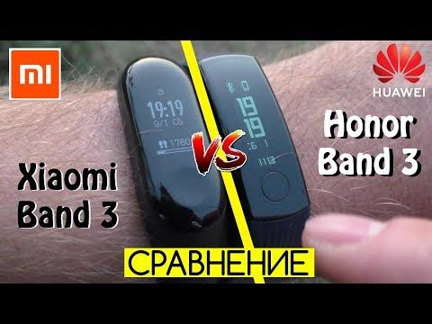 Compare Xiaomi Mi Band 3 Band 🆚 Huawei Honor 3
