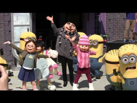 Grand opening of Despicable Me: Minion Mayhem at Universal Orlando