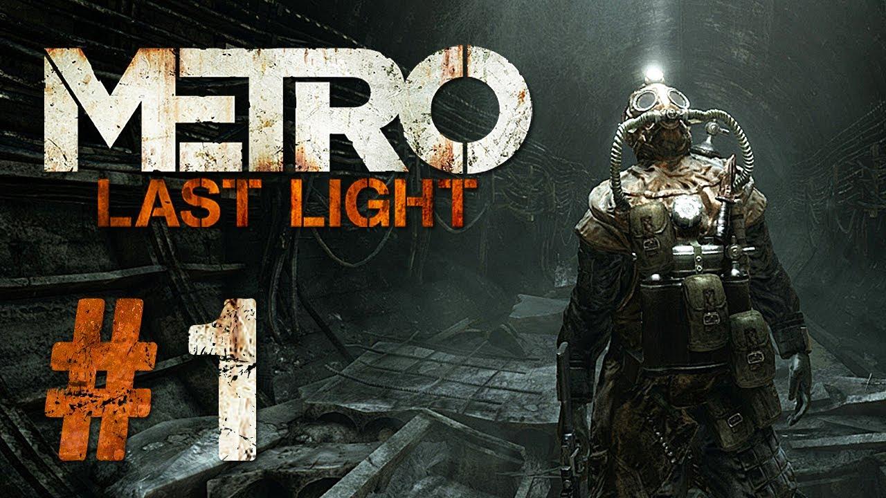 metro last light gameplay 1 let 39 s play metro last light. Black Bedroom Furniture Sets. Home Design Ideas