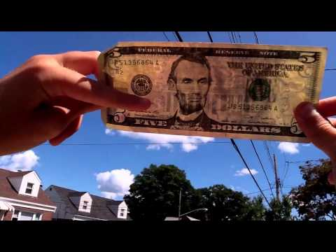 How To Check If A $5 Bill Is Real