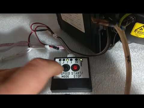 Проверка инверторных модулей компрессора холодильника.