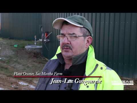 En France, énergie par déchets de tomates et fumier des porcs - English subtitles