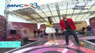 VIA VALLEN & SAIPUL JAMIL -  ADUHAI    OM SERA LIVE GENTARA MNCTV 2014