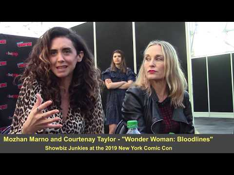 Wonder Woman: Bloodlines - Mozhan Marno, Courtenay Taylor Interview
