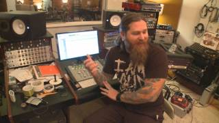 Living Sacrifice In The Studio - Webisode #1