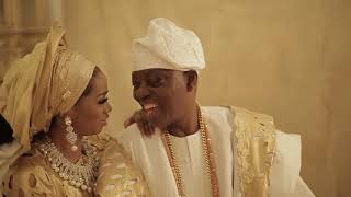 Okoya Love Story  Aare Alhaji Akanni and Chief Mrs Sade Express Love 20 years After Marriage