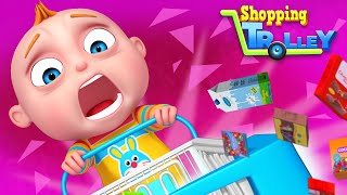 TooToo Boy - Shopping Trolley | Videogyan Kids Shows | Cartoon Animation For Children