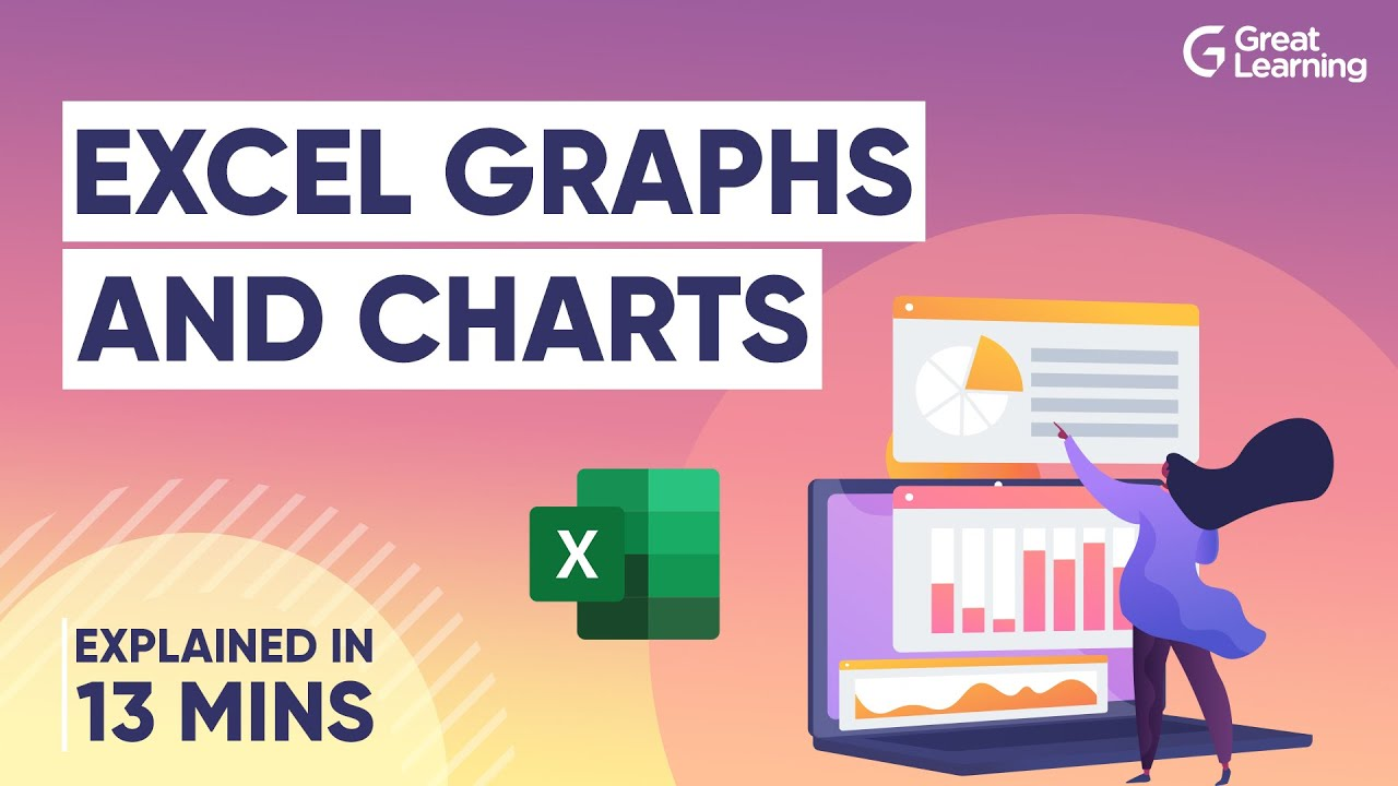 Excel Graphs and Charts | MS Excel Tutorial | Advanced Excel tutorial | Great Learning