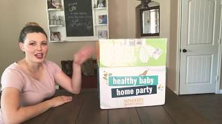 Seventh generation free baby box! Generation Good Happy Healthy Baby Home Party August 2018 Unboxing