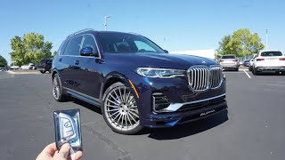 The 2021 BMW Alpina XB7 is a LIMITED Production SUV with Performance and Luxury!!