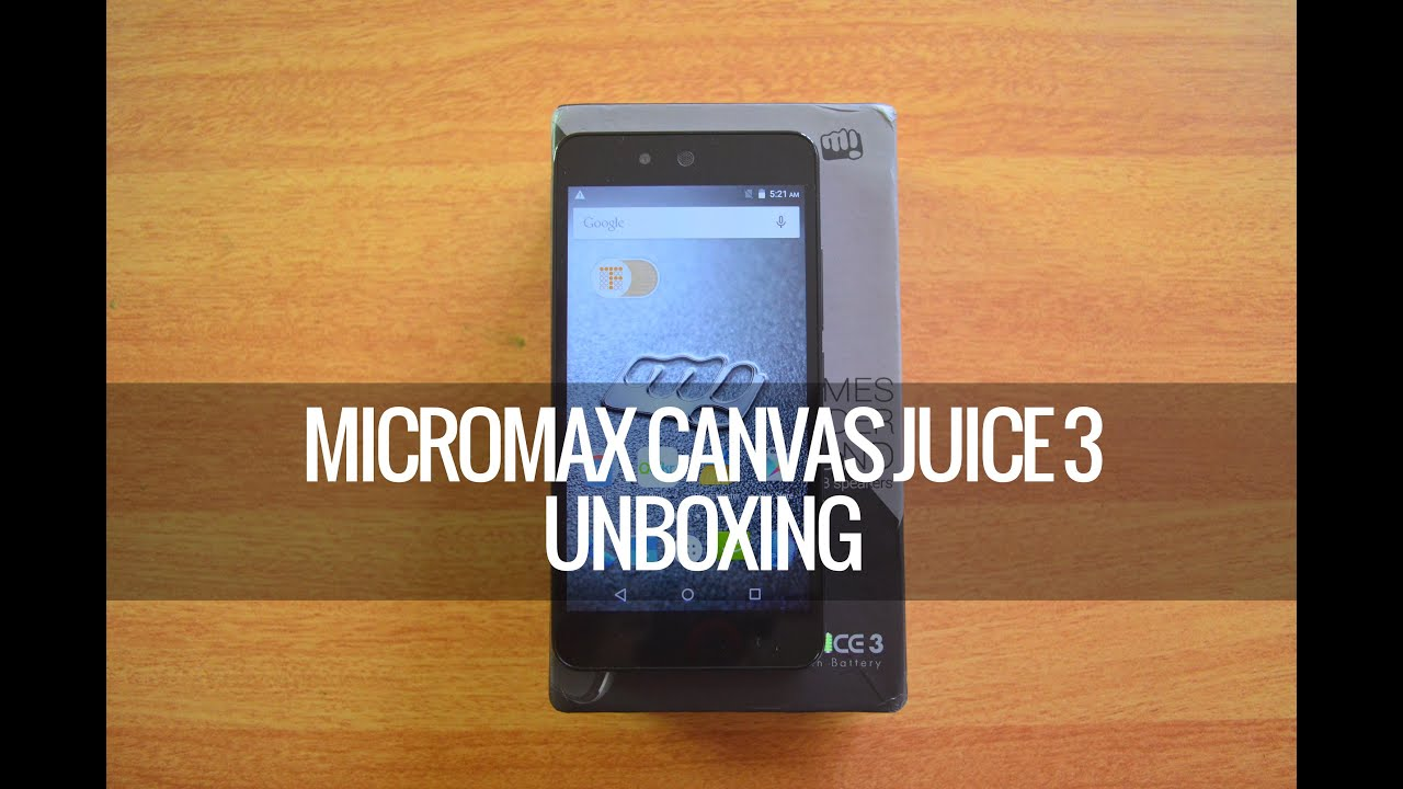 Geeky gadgets page 2 of 5863 gadgets and technology news - Micromax Canvas Juice 3 Q392 Unboxing And Hands On
