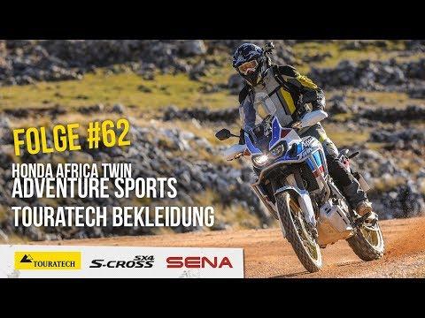 Motorradreise.TV Folge #62 – Test Honda Africa Twin Adventure Sports, Motorradausrüstung Touratech