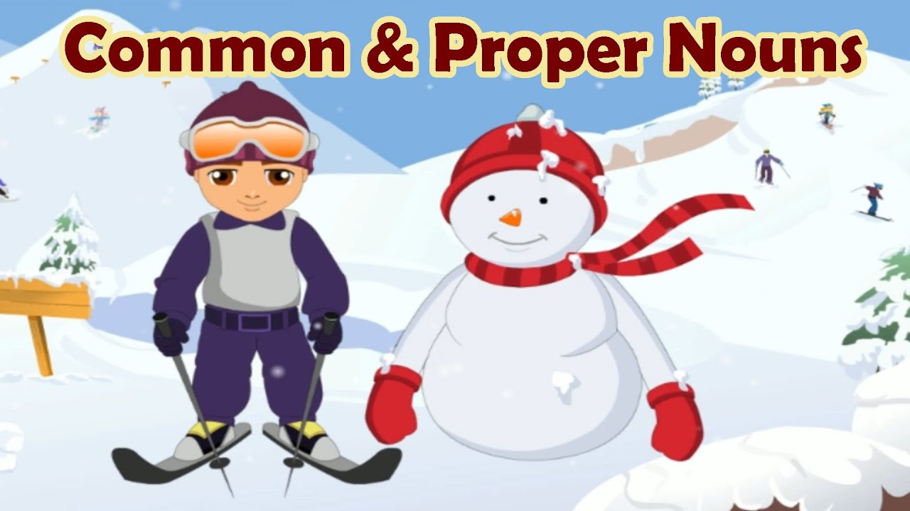 common and proper nouns mrs lorber s homepage