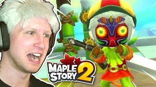 IT'S FINALLY HERE!!! 🍁 Scythe Plays MapleStory 2 #01