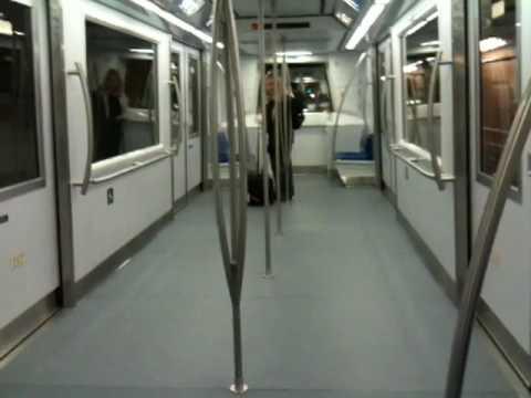Riding the new Aerotrain at Washington Dulles Airport ...