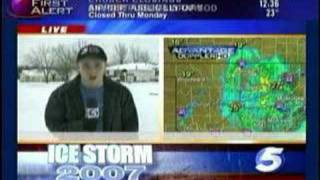 Stephen Gorys Debut on KOCO TV5