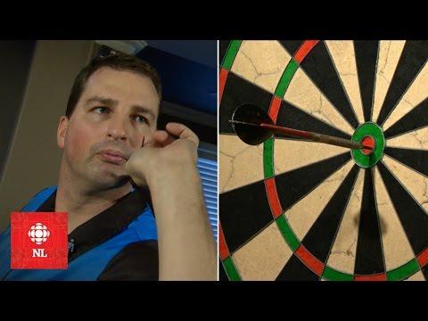 Bullseye! St. John's dart player goes pro