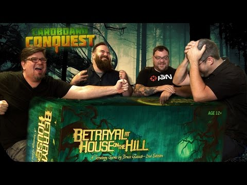 Cardboard Conquest - How to Play Betrayal at House on the Hill