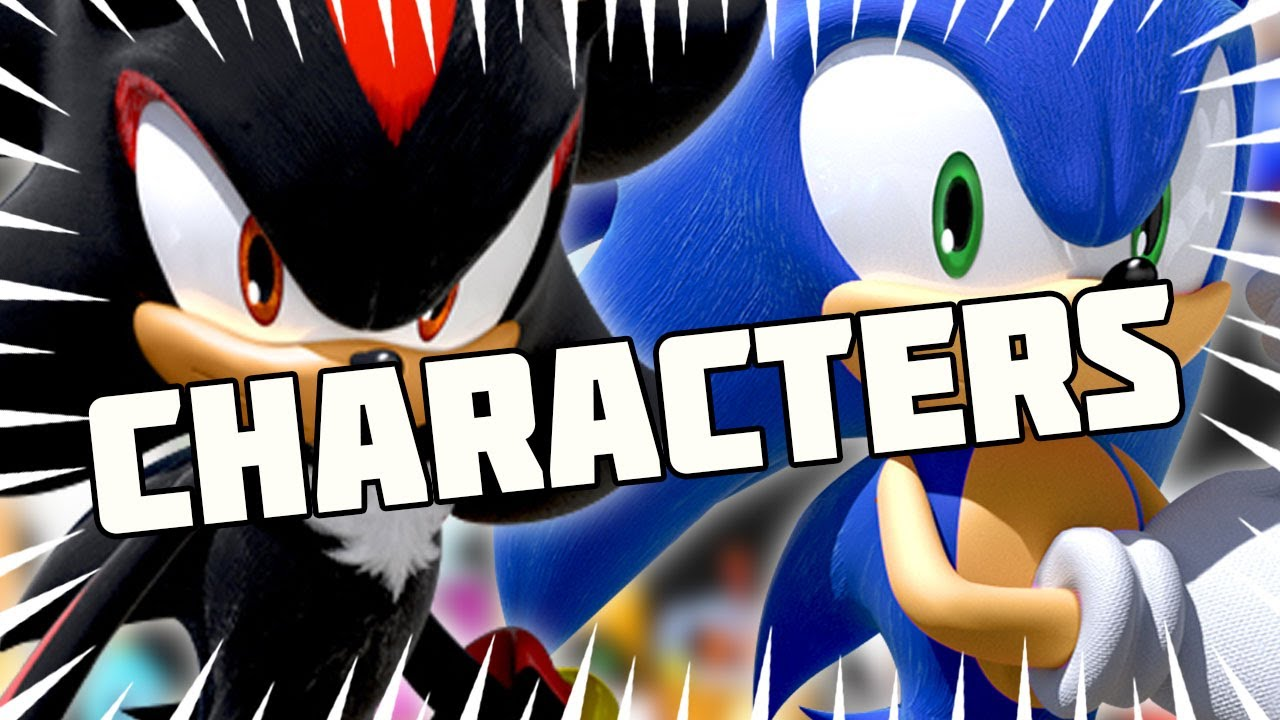 Sonic Characters Tier List!