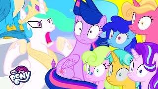 My Little Pony | Cheer With Princess Celestia (2, 4, 6, Greaaat)  | MLP: FiM