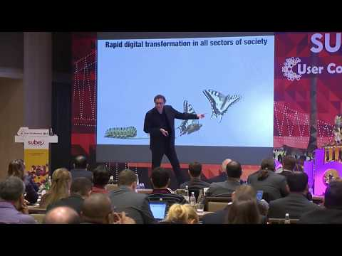 Future of telecommunications, technology and business lecture Gerd Leonhard