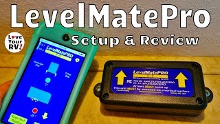 Review of the LevelMatePRO Wireless RV Leveling Aid