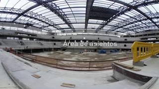 Antel Arena en 360