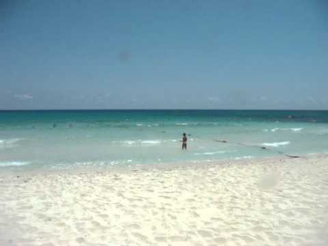 Mexico 2011 Valentin Imperial Maya Resort Beach YouTube