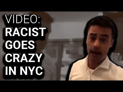 White Dude Loses His Mind After Hearing Spanish in NYC