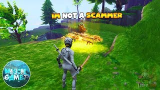 Magical Gamer  SCAMMED ME! 😂 Scammer Get Scammed in Fortnite Save The World