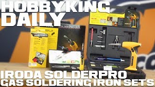 Iroda Solderpro 4-In-1 Gas Soldering Iron Sets - Hobbyking Daily