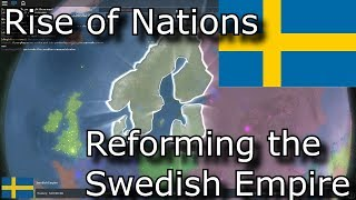 Rise of Nations | Reforming the Swedish Empire [Roblox Rise of Nations]