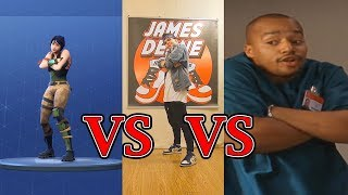 How To Do The Fortnite Default Dance (In Real Life) (en anglais seulement) James Deane (en)